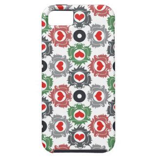 Corazón del león iPhone 5 Case-Mate protectores