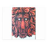 Corazón del león postales