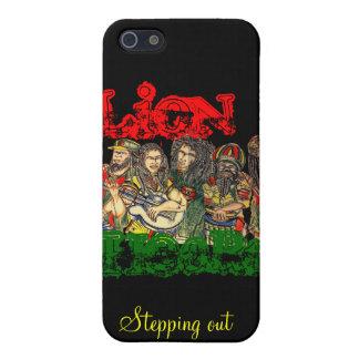 Corazón del león, reggae iPhone 5 carcasas