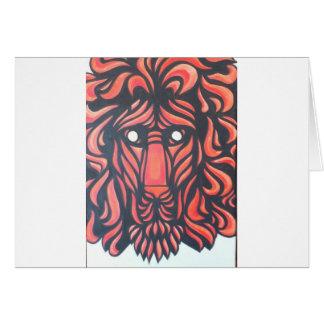 Corazón del león felicitación