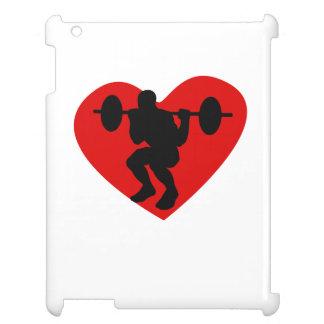 Corazón del levantamiento de pesas