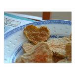 Corazón del maíz postal