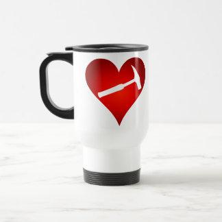 Corazón del martillo de la roca (derecho) tazas