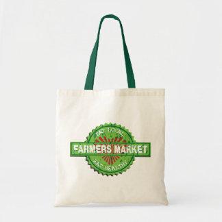 Corazón del mercado de los granjeros bolsas