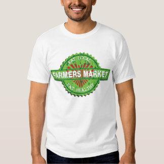 Corazón del mercado de los granjeros remeras