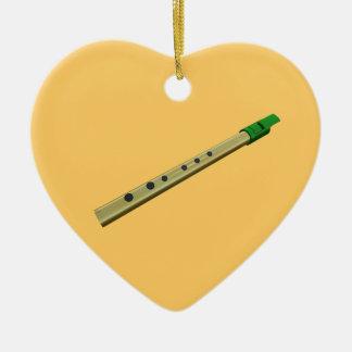 Corazón del navidad del cumpleaños del verde del o ornamento de reyes magos