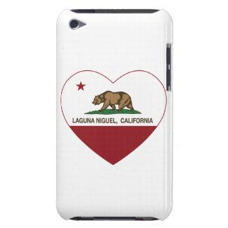 corazón del niguel de Laguna de la bandera de Cali Case-Mate iPod Touch Protectores