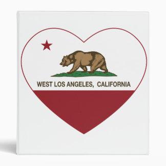 """corazón del oeste de Los Ángeles de la bandera de Carpeta 1"""""""