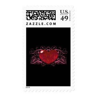 Corazón del ópalo de fuego sellos