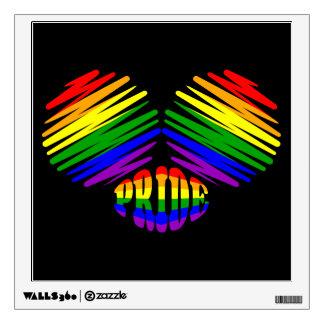 Corazón del orgullo gay
