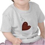 Corazón del país camisetas