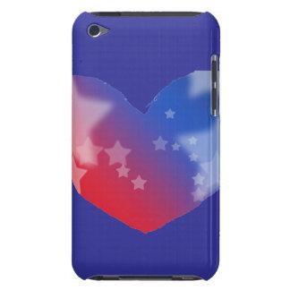 Corazón del patriota iPod touch Case-Mate fundas