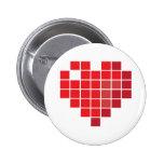 Corazón del pixel pin