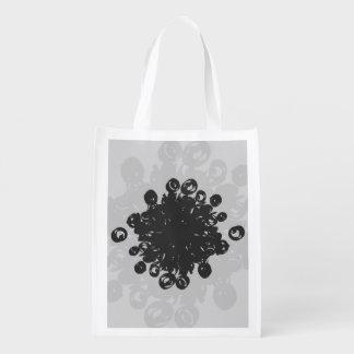 Corazón del polen bolsa de la compra