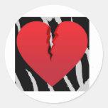 Corazón del relámpago etiquetas