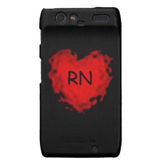 Corazón del RN Droid RAZR Funda