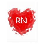 Corazón del RN Tarjetas Postales
