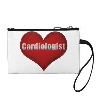 Corazón del rojo del cardiólogo