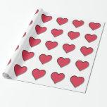 Corazón del rojo del el día de San Valentín