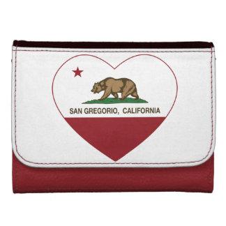 corazón del san Gregorio de la bandera de Californ