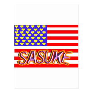 Ⅰcorazón del sasuke postal