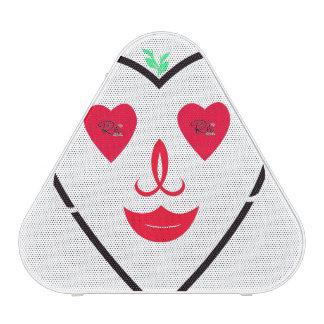 Corazón del smiley de RightOn Altavoz Bluetooth
