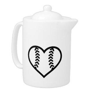 Corazón del softball