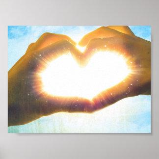 corazón del sol póster