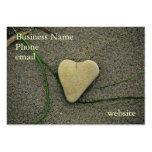 ¡Corazón del tarjeta-Personalizar del negocio de l Plantillas De Tarjeta De Negocio