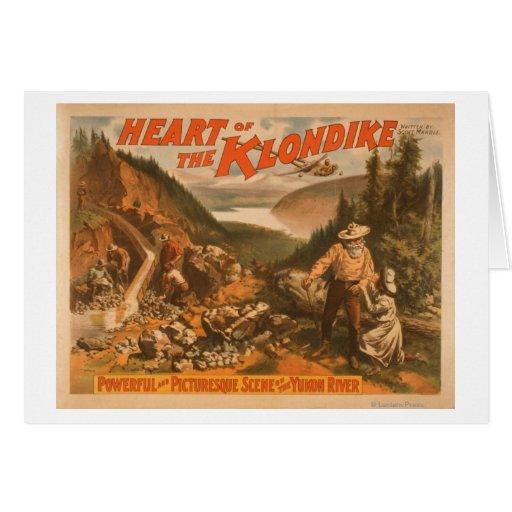 Corazón del teatro 2 de la minería aurífera de Klo Tarjeton