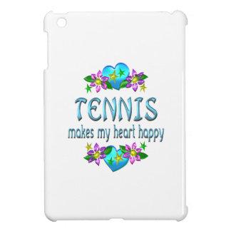 Corazón del tenis feliz