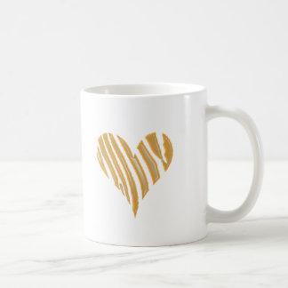 Corazón del tigre taza