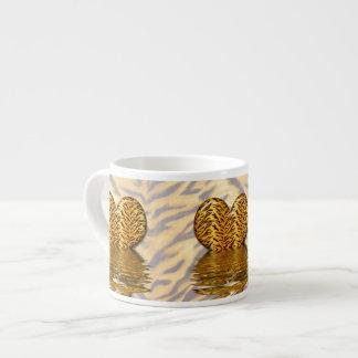 Corazón del tigre taza espresso