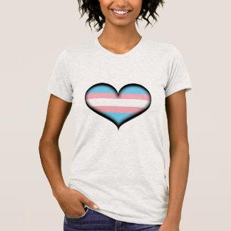 Corazón del transexual playera