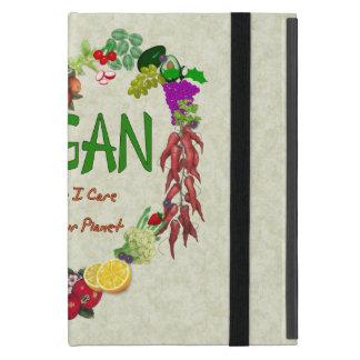 Corazón del vegano iPad mini carcasas