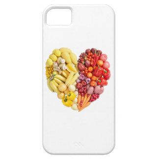 Corazón del Veggie iPhone 5 Case-Mate Protectores