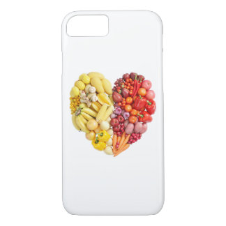Corazón del Veggie Funda iPhone 7