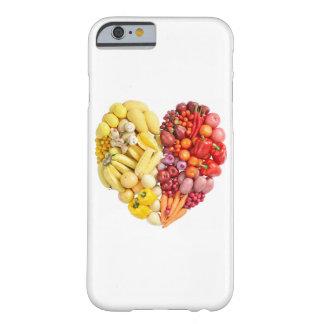 Corazón del Veggie Funda Para iPhone 6 Barely There
