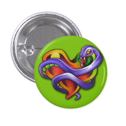 Corazón del veneno - botón
