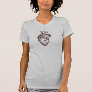 Corazón del vintage - anatomía t shirts