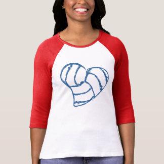 Corazón del voleibol remera