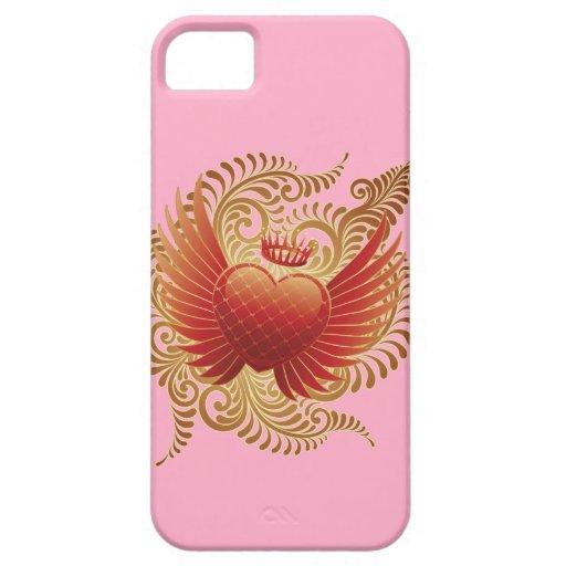 Corazón del vuelo iPhone 5 cobertura