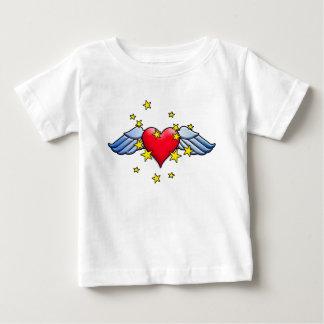 Corazón del vuelo remera