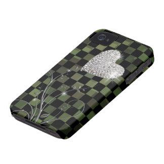 Corazón delicado - modelo de los inspectores iPhone 4 coberturas