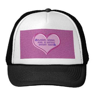 Corazón descarado gorras de camionero