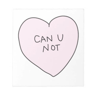 Corazón descarado: Puede U no Libretas Para Notas