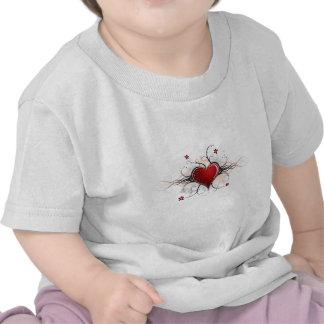 Corazón Desgin Camiseta