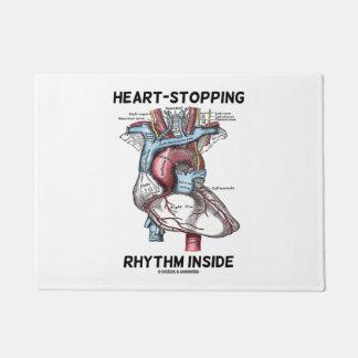 Corazón-Detención de ritmo dentro del corazón Felpudo