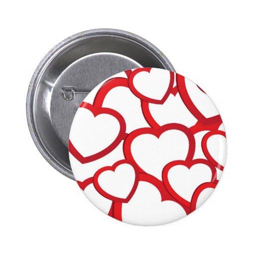 Corazón dibujado mano. Ejemplo del vector Pin