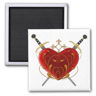 Corazón e imán de las dagas
